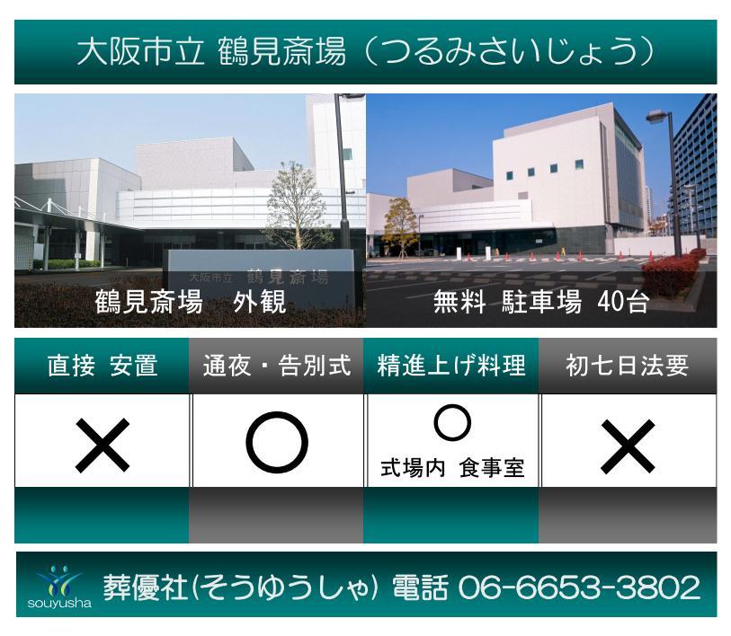 鶴見斎場 駐車場の有無・アクセス