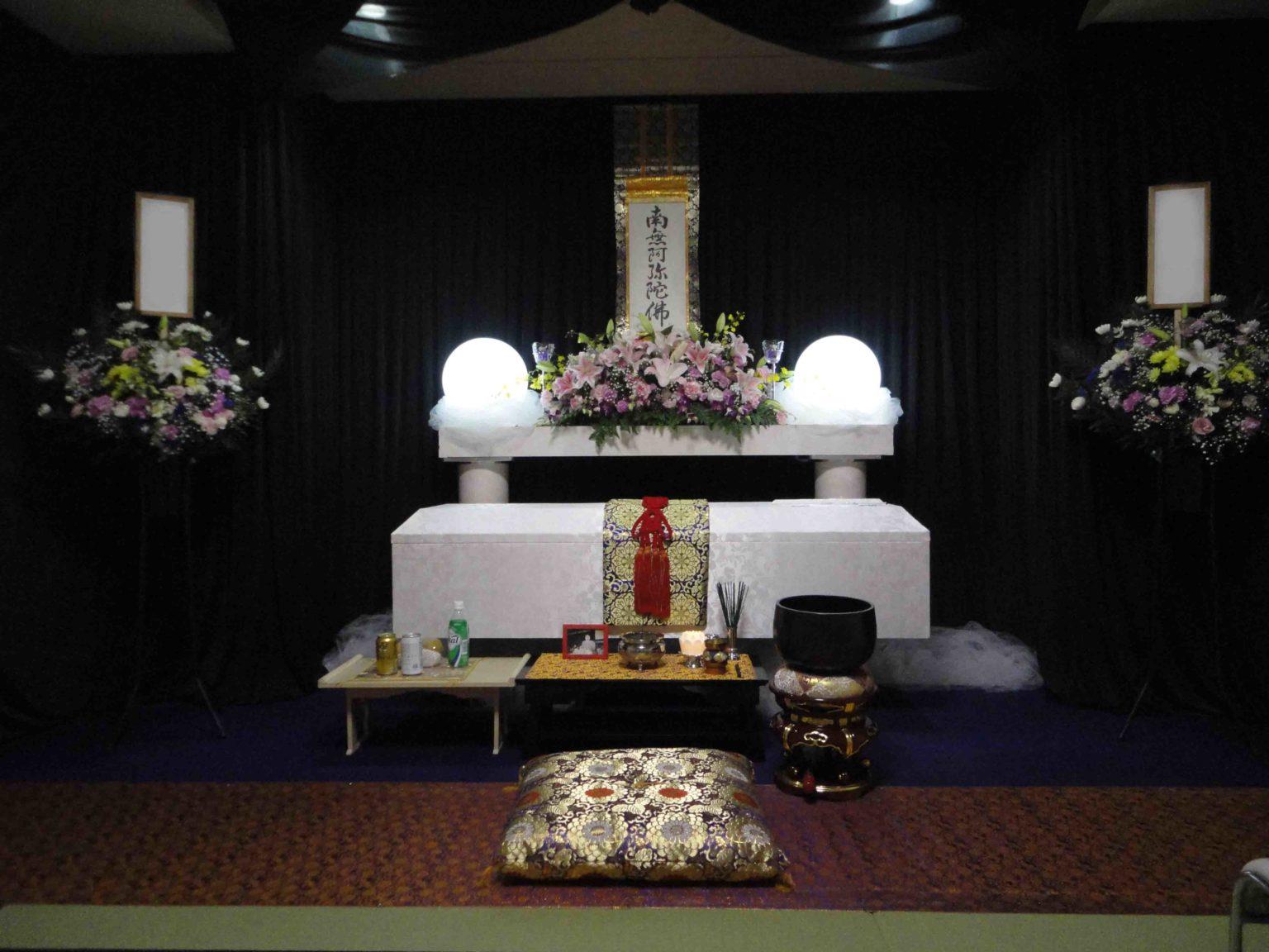 大阪市此花区の生活保護受給者様の葬儀をお手伝い